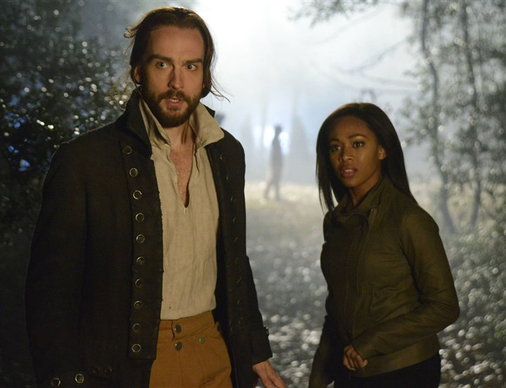 "SleepyHollow Tom Mison and Nicole Beharie star in ""Sleepy Hollow."" The show airs on Fox."