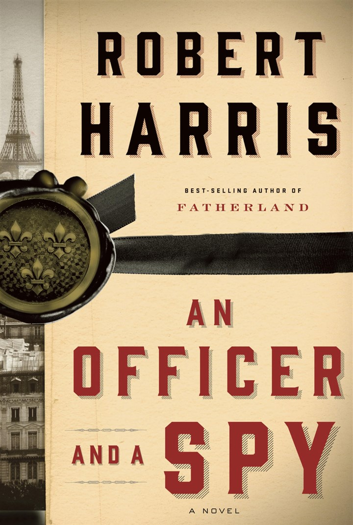 "Robert Harris ""An Officer and a Spy"" by Robert Harris."