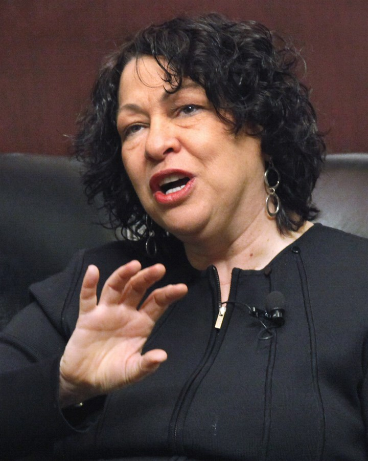 sotomayor-1 Supreme Court Justice Sonia Sotomayor.