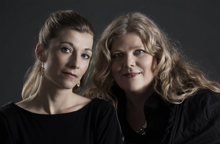 "Agnete Friis Agnete Friis, left, and Lene Kaaberbol, authors of ""Death of a Nightingale"" (2013)."