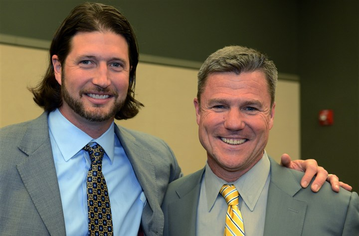 SEEN Dapper Dan - Grilli, Coonelly Jason Grilli and Frank Coonelly.