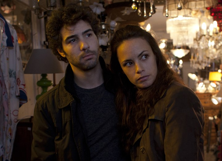 "ThePast2-6 Tahar Rahim as Samir and Berenice Bejo as Marie in ""The Past"""