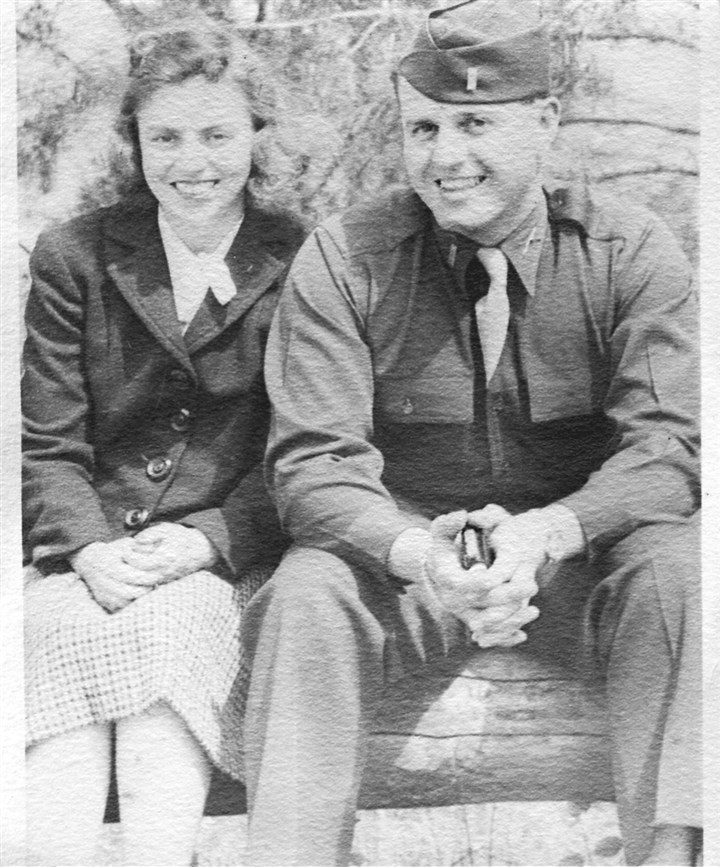 Mr. and Mrs. Wallace Lippincott Jr. Mr. and Mrs. Wallace Lippincott Jr. in spring, 1944.