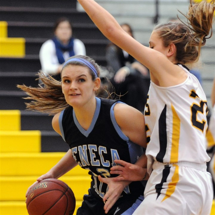 9b000kji.jpg Abbie Trzeciak rebounded from an offseason knee injury to turn in a stellar performance for Seneca Valley.
