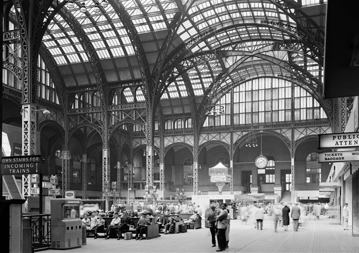 20140205hoPennStation2Mag Penn Station, New York circa 1920. .