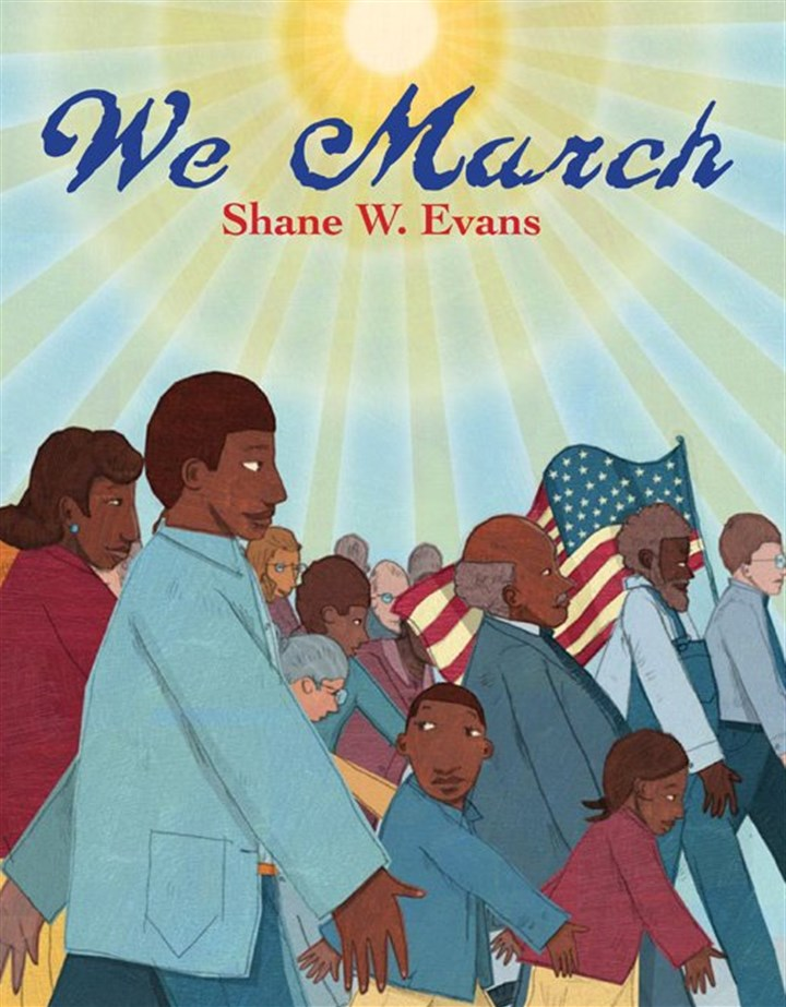 "20140212evans3 ""We March"" by Shane Evans."