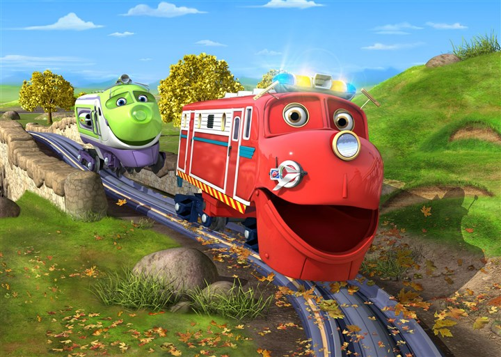 "chuggington1-2 ""Chuggington"" on Disney Junior and Disney Channel."