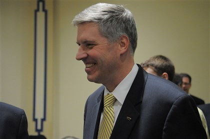 20140208ttGallagherLocal (7 University of Pittsburgh's new chancellor Patrick D. Gallagher.