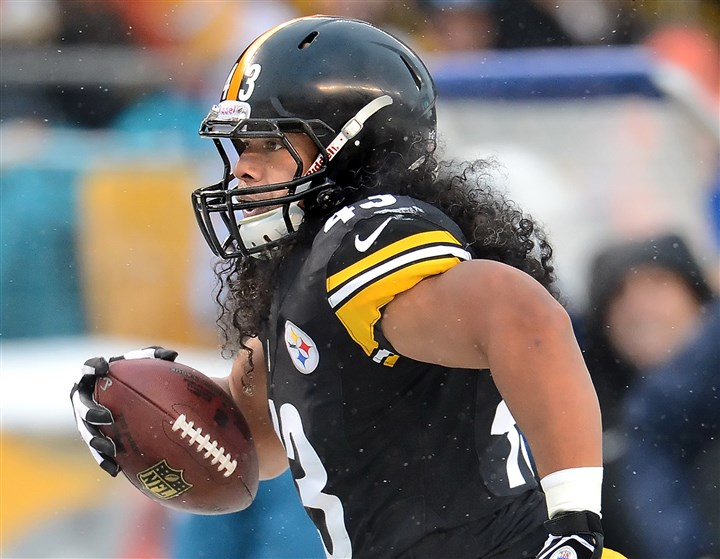 20140216_Troy Polamalu  When you get to be 33, as Troy Polamalu will be in April, age becomes an issue every year.