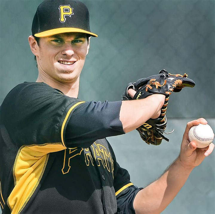 locke0503 Left-hander Jeff Locke could make his 2014 debut with the Pirates if they recall him to fill a hole in the rotation.