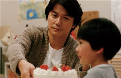 "20140220LikeFatherLikeSon1 Masaharu Fukuyama as the father in the film ""Like Father, Like Son."""
