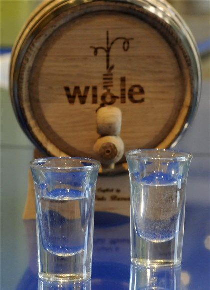Wigle whiskey Wigle whiskey's footprint was limited by the old rules, said Meredith Grelli, co-owner of Pittsburgh Distilling Co.
