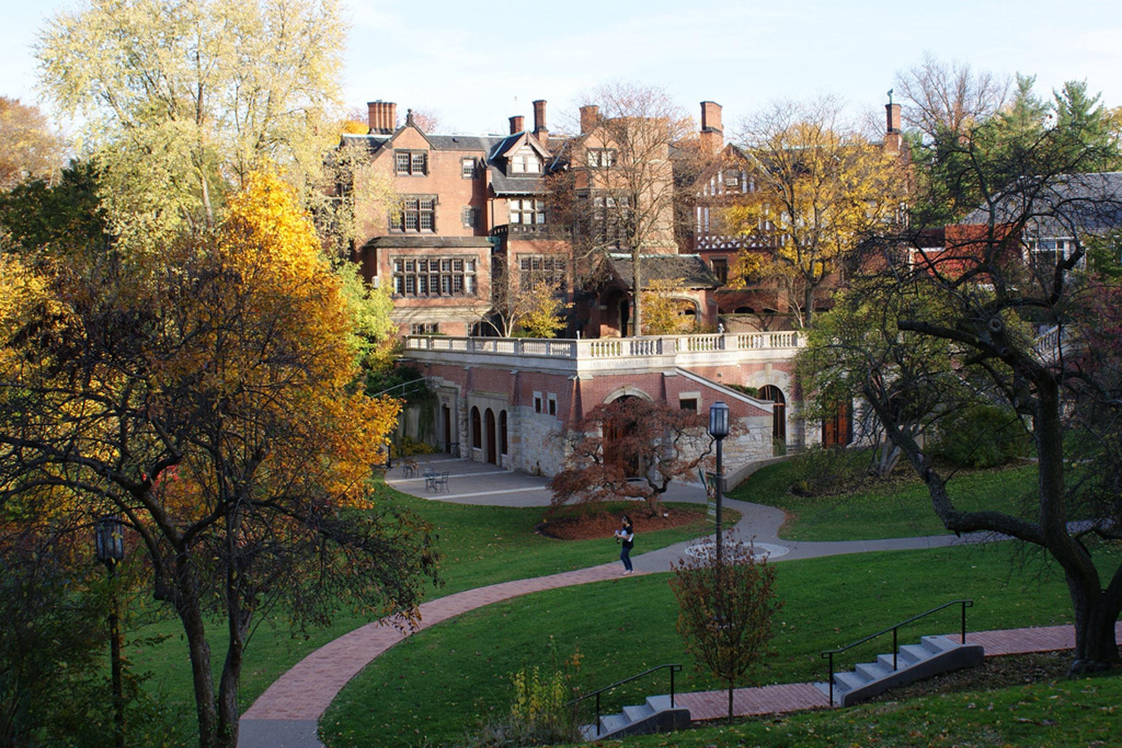 Chatham university considers enrolling men as for The chatham