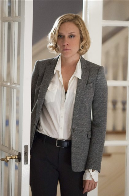 "20140302HOkill5-4 Chloe Sevigny stars as a Pittsburgh homicide detective in the new A&E series ""Those Who Kill"" premiering Monday."