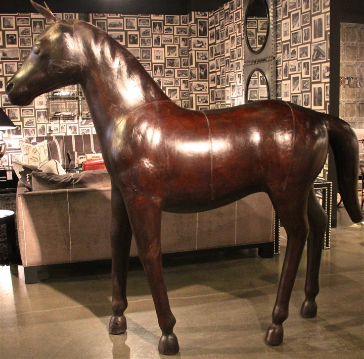 styleHorse3-3 California based Cisco Brothers got into the spirit of the Chinese Lunar new year with this leather horse.