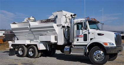 The RoadMixer The RoadMixer produces hot asphalt that does a better job of repairing potholes than the cold mixture typically used by road crews during the winter. Hot Mix Mobile LLC of Lebanon County developed the machine.