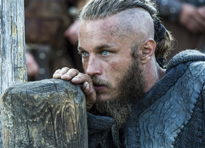 "20140224HOVikings2 Travis Fimmel portrays Earl Ragnar Lothbrok on History's ""Vikings."""