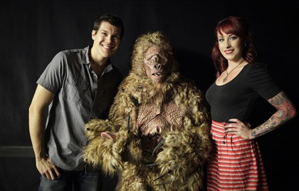 "Syfy's 'Face Off' Tyler Green and Chloe Sens scored with their creature on this week's ""Face Off"" on Syfy."