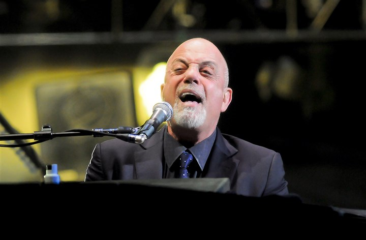20140221bwJoelMag02 Billy Joel sings at during a concert at Consol Energy Center in 2014.