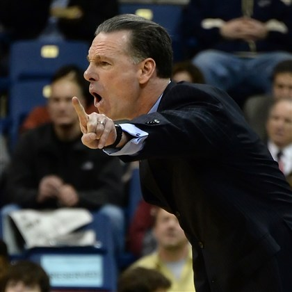 Pitt coach Jamie Dixon Pitt coach Jamie Dixon stressed that the Panthers need to be patient on both sides of the ball today at Notre Dame.