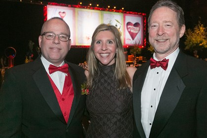 20140223jcSeenHeartBall15-2 Heart Ball Chair Mike Williams with Debbie Frick and Rick Shaw.
