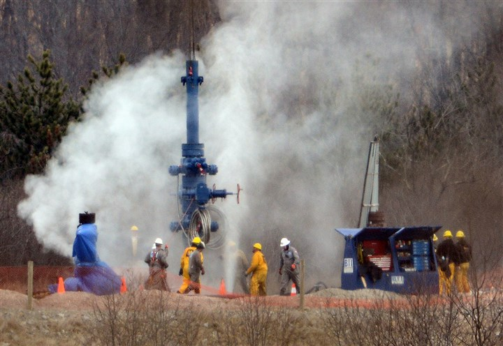 Gas Well Capped Chevron said that one of two wells in Greene County that were still leaking natural gas after a Feb. 11 explosion has been capped.