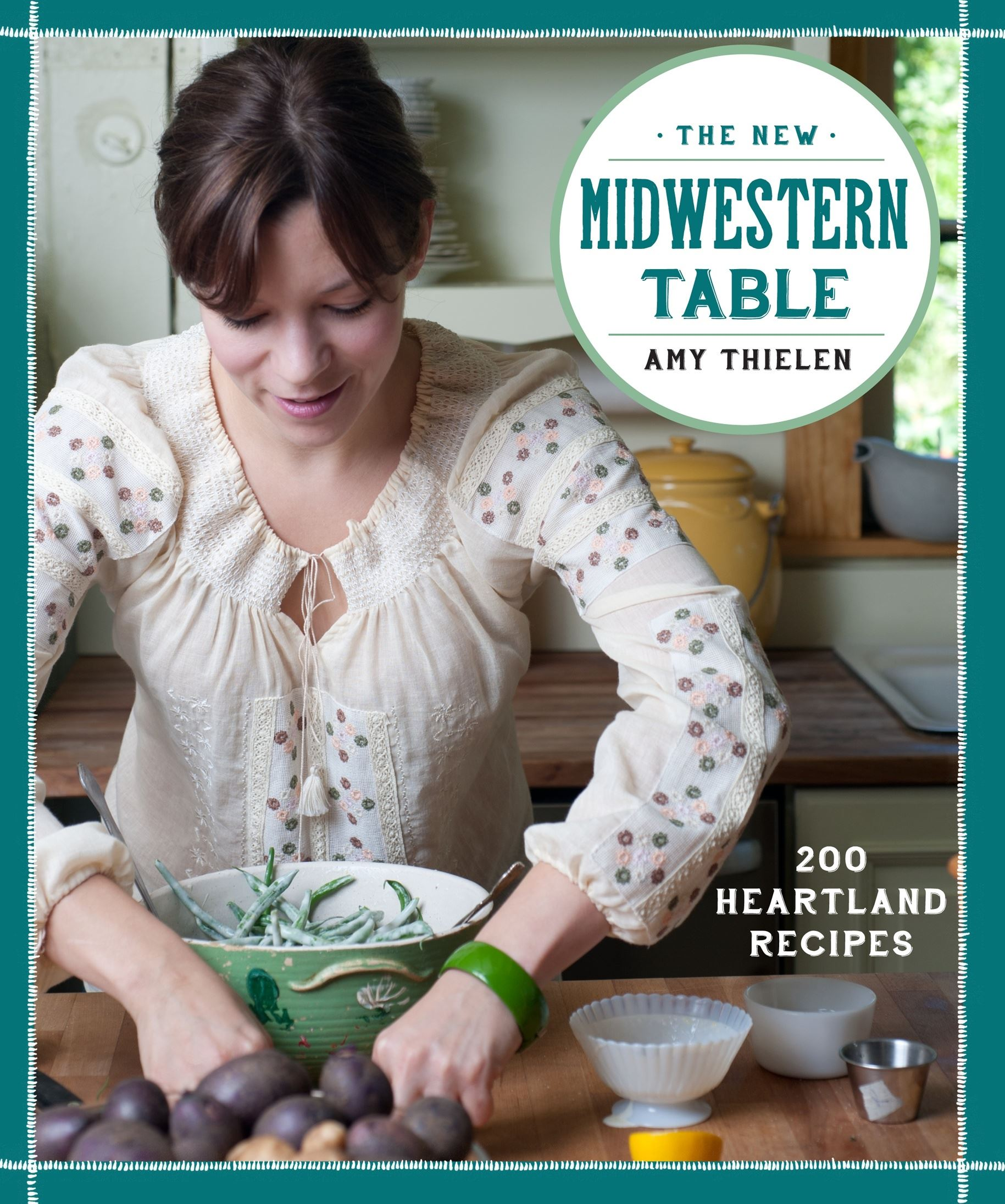 "20140225homidwest1food The cover of ""The New Midwestern Table"" by Amy Thielen."
