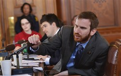 Councilman Dan Gilman introduced the bills Tuesday and expects a preliminary vote next week.