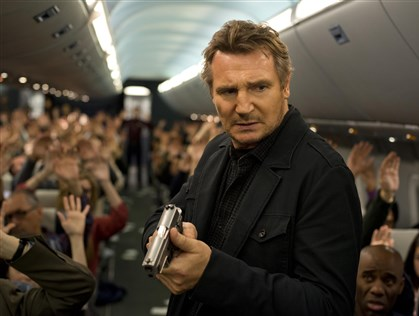 "NonStop1 Liam Neeson stars in ""Non-Stop,"" a suspense thriller played out at 40,000 feet in the air."