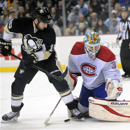 Penguins lose in shootout to Montreal, 6-5