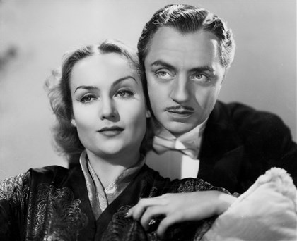 "lombard-3 ""My Man Godfrey"" (1936), starring Carole Lombard and William Powell."