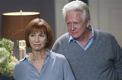 "20140302HOkill4-1 Kathy Baker and Bruce Davison co-star in ""Those Who Kill."""