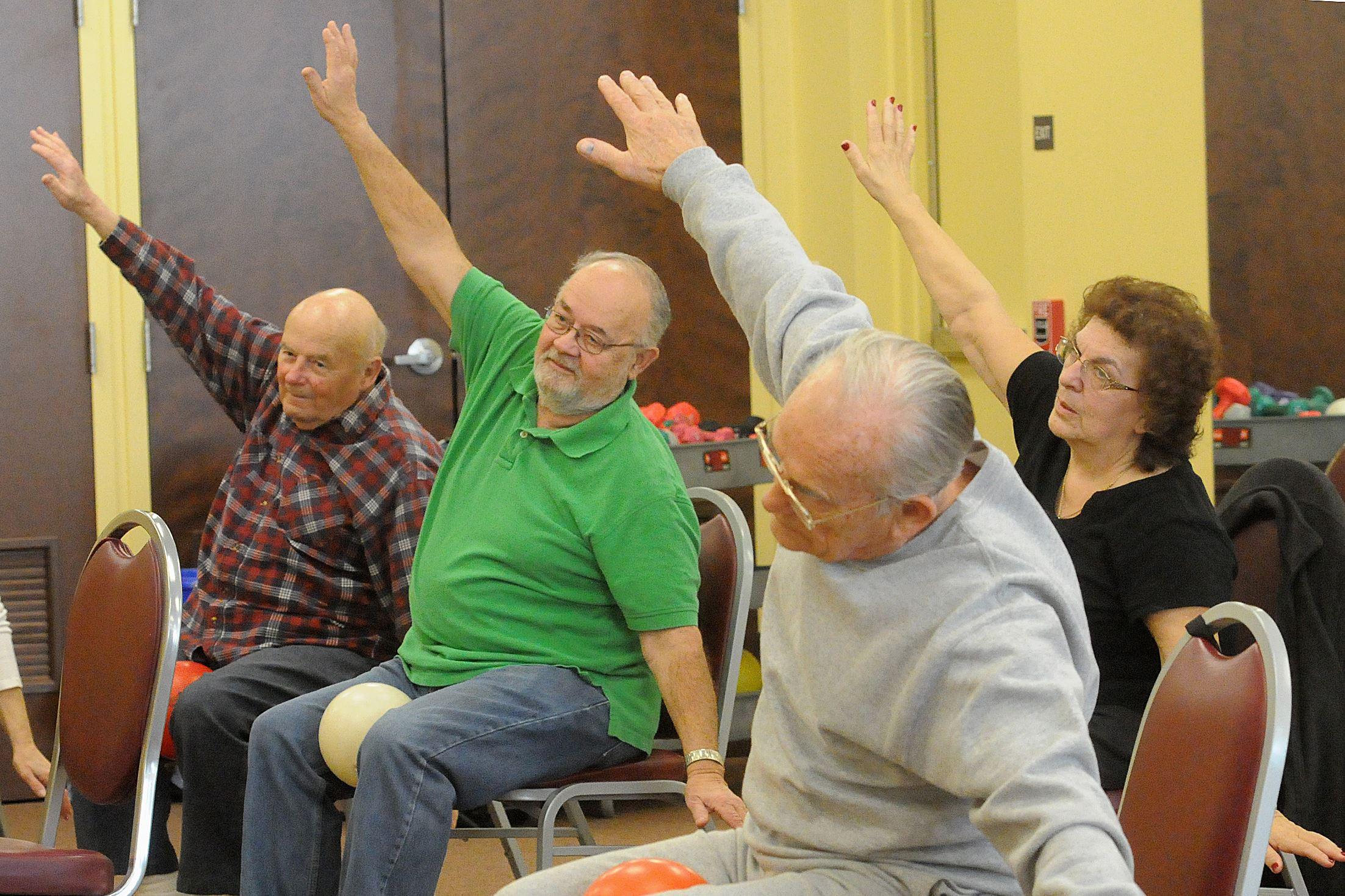 Exercises for senior citizens