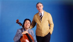 "Cellist Yo-Yo Ma was a guest on ""Mister Rogers' Neighborhood"" in 1985, 1990 and 1998. He was the first recipient of the Fred Rogers Legacy Award."