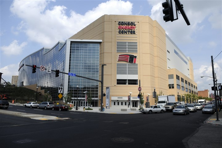 Consol Energy Center Consol Energy Center contains 18,387 seats for hockey, but gets close to 20,000 for concerts. Could it be host to the convention in 2016?