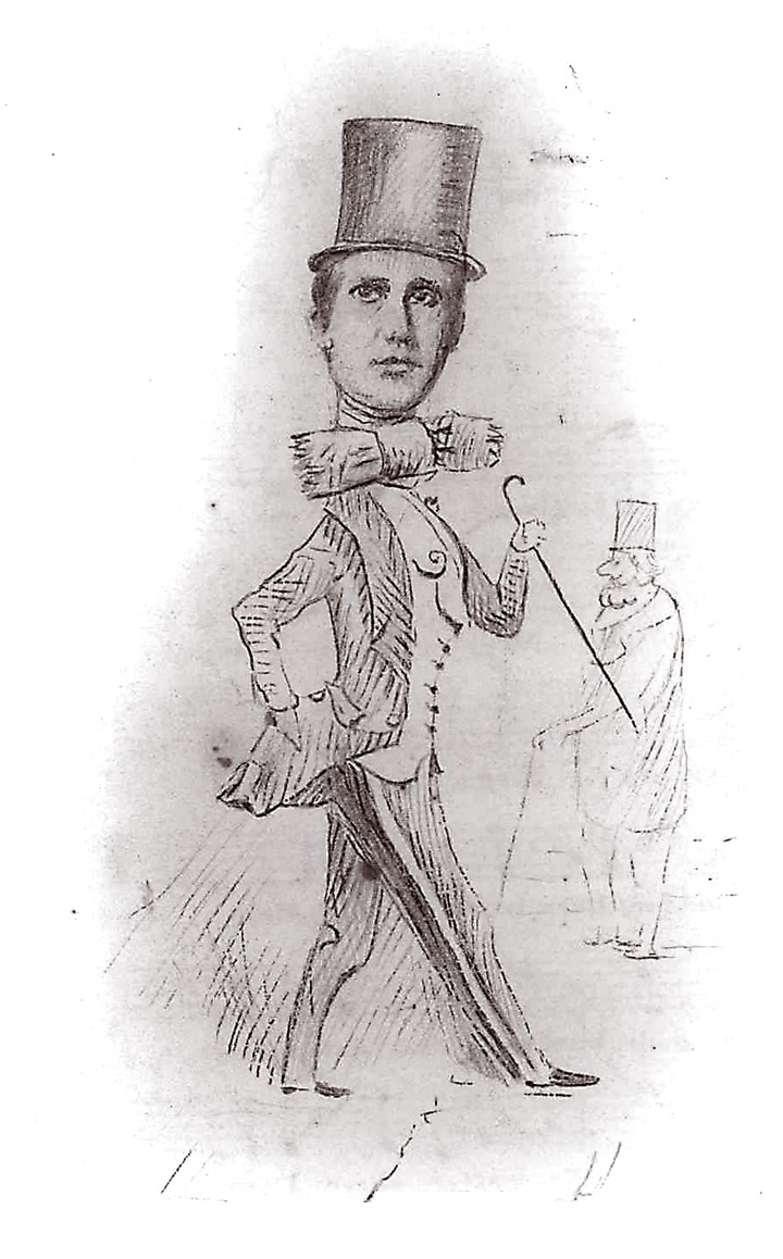 NextPage_Stephen_Foster Foster's self-portrait 