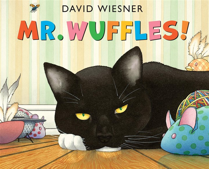"""Mr. Wuffles""  ""Mr. Wuffles"" by David Wiesner earned a Caldecott Honor in January."