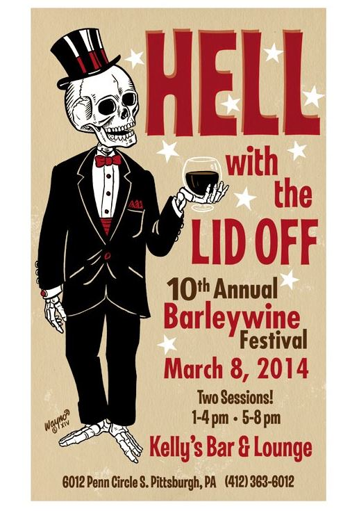 Poster for Hell with the Lid Off Barleywine Festival