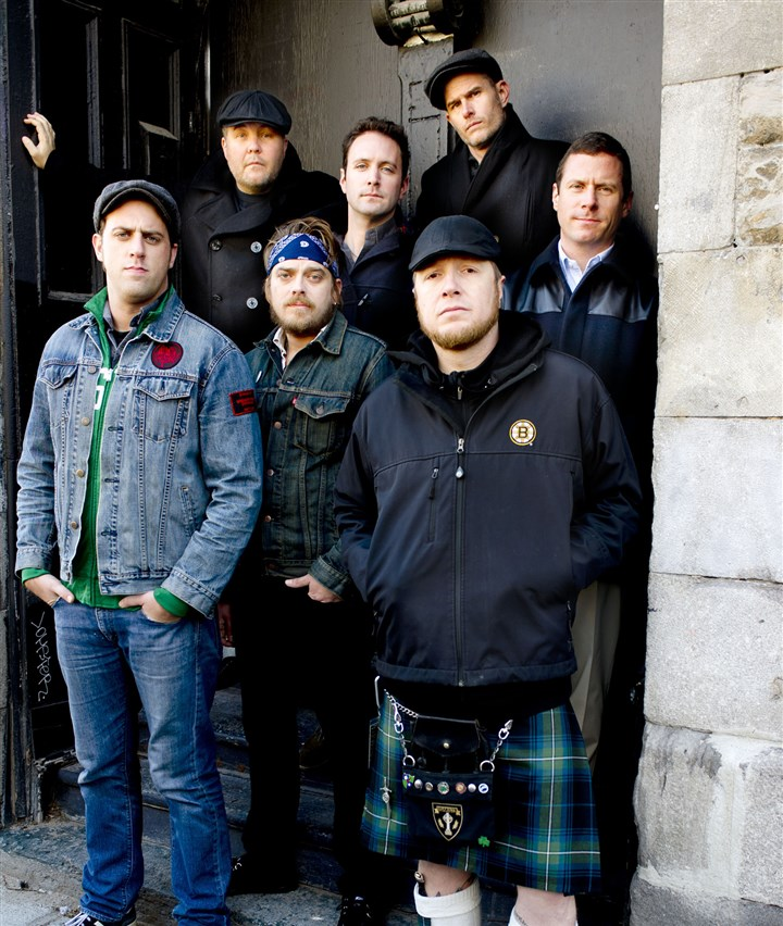 "Dropkick Murphys Dropkick Murphys: From left, Tim Brennan, Ken Casey, James Lynch, Jeff DaRosa, Josh ""Scruffy"" Wallace, Al Barr, Matt Kelly."