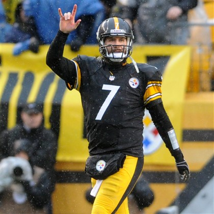 Roethlisberger celebrates vs. Browns Ben Roethlisberger celebrates a touchdown Dec. 29. The quarterback turned 32 years old March 2; it's probably time for Steelers fans to stop fretting about his health.