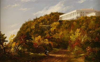 "Cole's ""Catskill Mountain House"" Thomas Cole (1801-48), ""Catskill Mountain House,"" c. 1845-47."