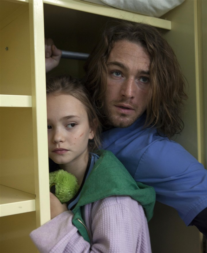 "NBC's 'Believe' Jake McLaughlin as Tate, Johnny Sequoyah as Bo in NBC's ""Believe."""
