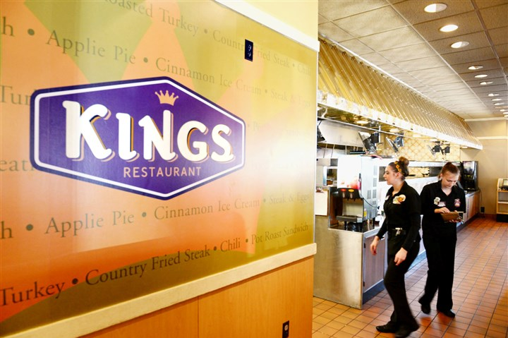Kings Family Restaurant in North Versailles New signage inside the Kings Family Restaurant in North Versailles.