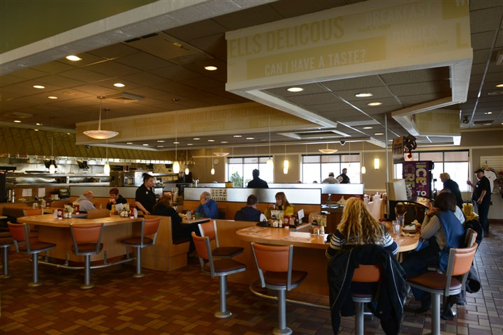 Kings Family Restaurant in North Versailles The newly renovated interior at Kings Family Restaurant in North Versailles.
