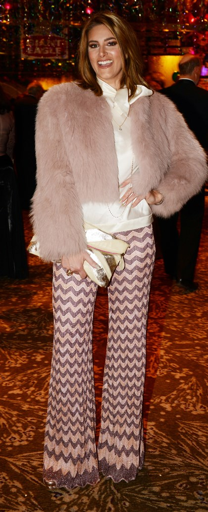 20140304bwGrasSeen11 Alexis Zappala in Missoni #SEENbestdressed.
