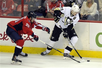 Kunitz scores twice, Crosby once as Penguins edge Capitals, 3-2