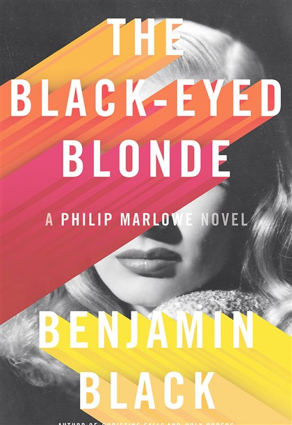 "2014Black1 ""The Black-Eyed Blonde"" by Benjamin Black."