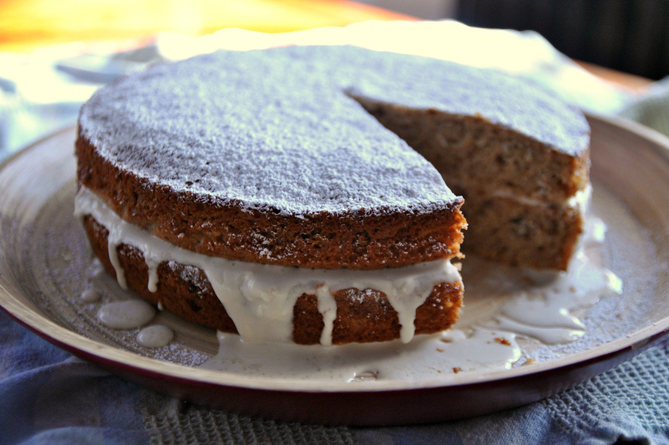 Parsnip and Maple Syrup Cake Parsnip and Maple Syrup Cake