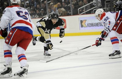 Penguins' 2-0 victory completes sweep of Capitals