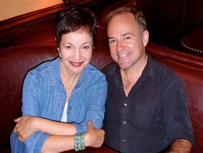 2013APAhrens0312mag Lyricist Lynn Ahrens and composer Stephen Flaherty.